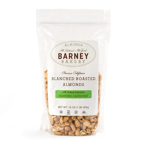 Blanched Roasted Almonds - Barney Butter - Certified Paleo, Paleo Vegan - Paleo Foundation