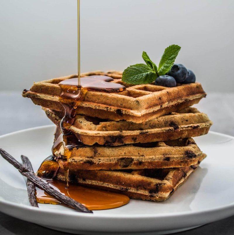 Blueberry Waffles 2 - Kitchfix - Certified Paleo - Paleo Foundation