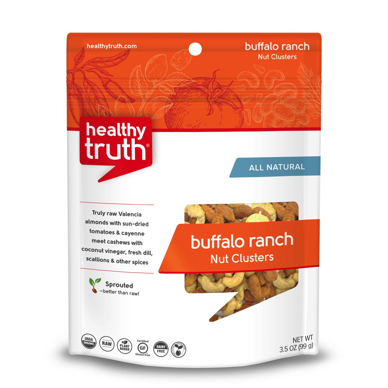 Buffalo Ranch Nut Clusters - Heathly Truth - Certified Paleo, Paleo Vegan - Paleo Foundation