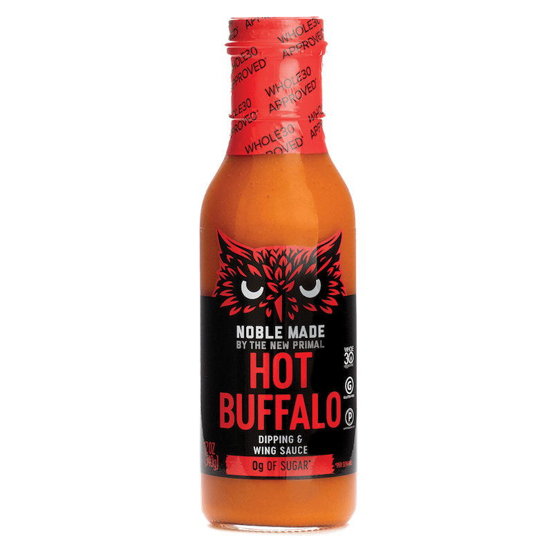 Buffalo Sauce Hot - The New Primal - Certified Paleo by the Paleo Foundation