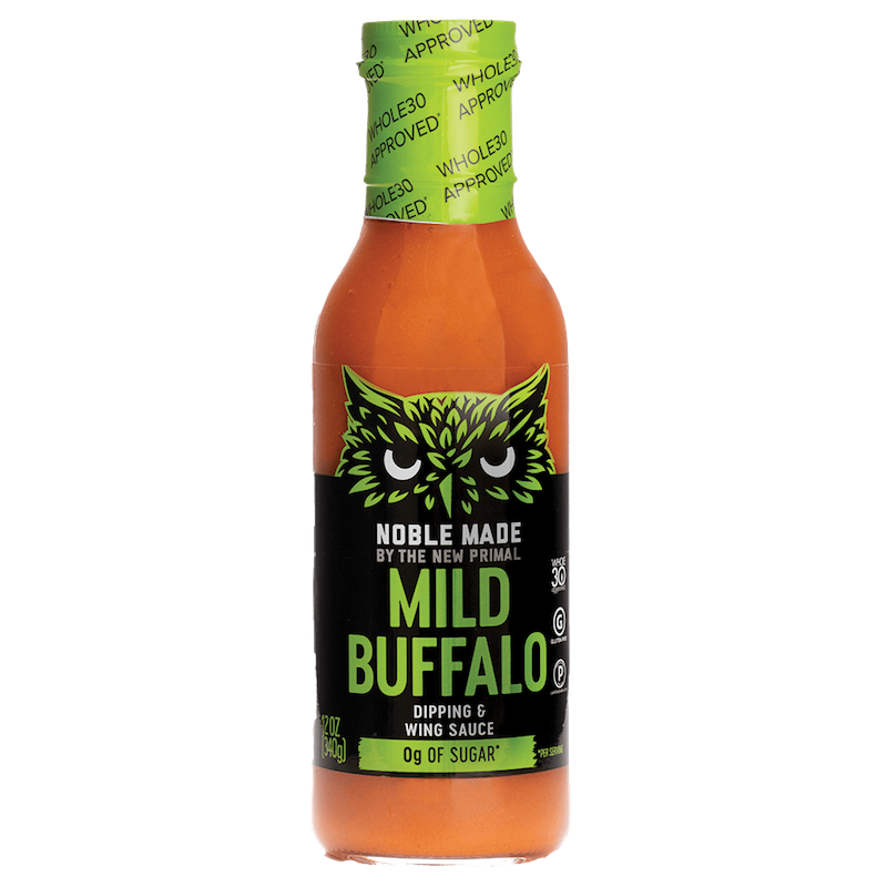 Buffalo Sauce Mild - The New Primal - Certified Paleo by the Paleo Foundation