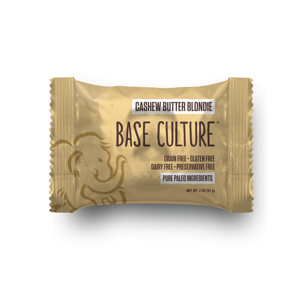 Cashew Butter Blondie