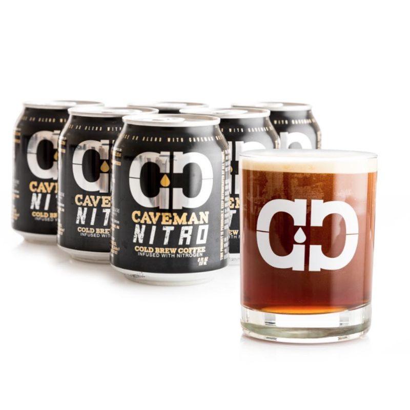 Caveman Nitro Cold Brew Coffee - Caveman Coffee Co - Certified Paleo, Keto Certified, Paleo Vegan - Paleo Foundation