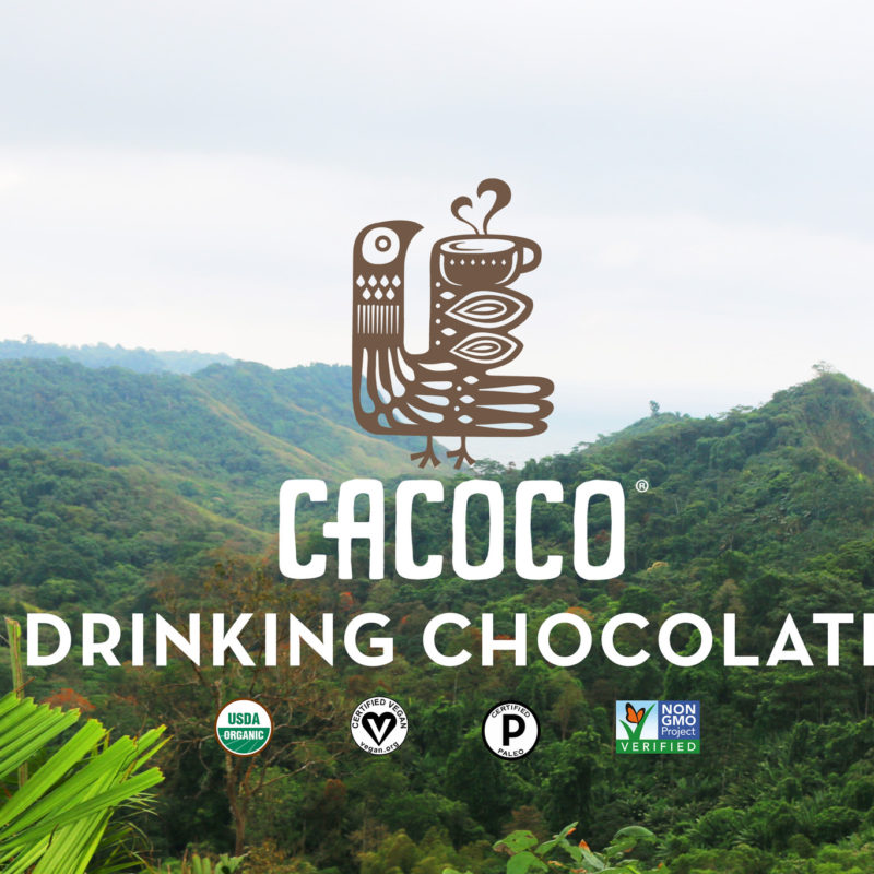 Certified Paleo, Certified PALEOVegan, and Non-GMO Drinking Chocolate from CACOCO