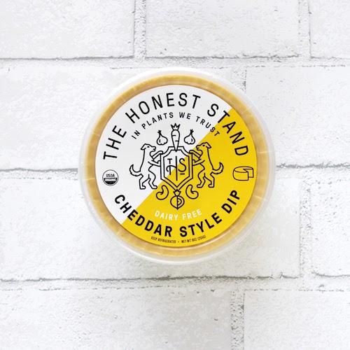 Cheddar Style Dip - The Honest Stand - Certified Paleo, Paleo Vegan - Paleo Foundation
