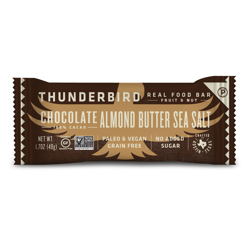 Chocolate Almond Butter Sea Salt - Thunderbird - Certified Paleo by the Paleo Foundation