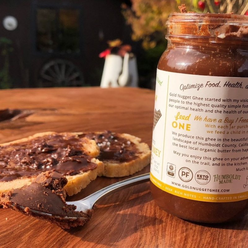 Chocolate Honey Ghee 02 - Gold Nugget Ghee - Paleo Friendly - Paleo Foundation