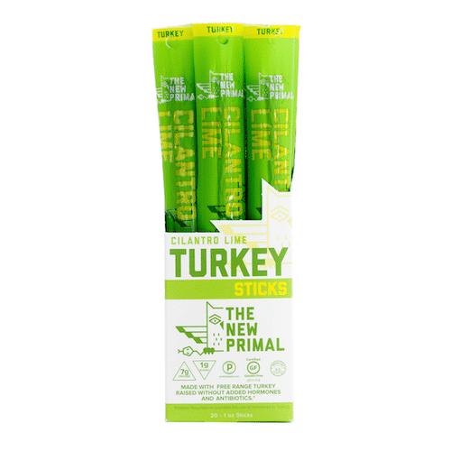 Cilantro Lime Turkey Sticks - The New Primal - Certified Paleo, KETO Certified - Paleo Foundation