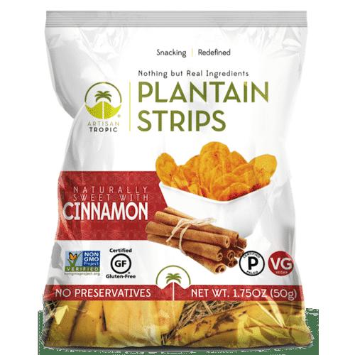 Cinnamon Plantain Chips- 1.75oz - Artisan Tropic - Certified Paleo, Paleo Vegan - Paleo Foundation