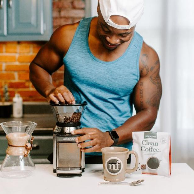 Clean Coffee 3 - Natural Force - Certified Paleo, Keto Certified by the Paleo Foundation