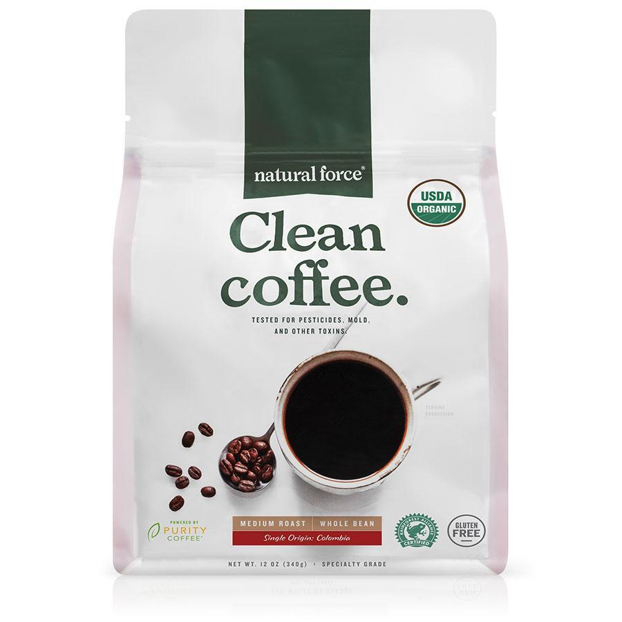 Clean Coffee - Natural Force - Certified Paleo, Keto Certified by the Paleo Foundation