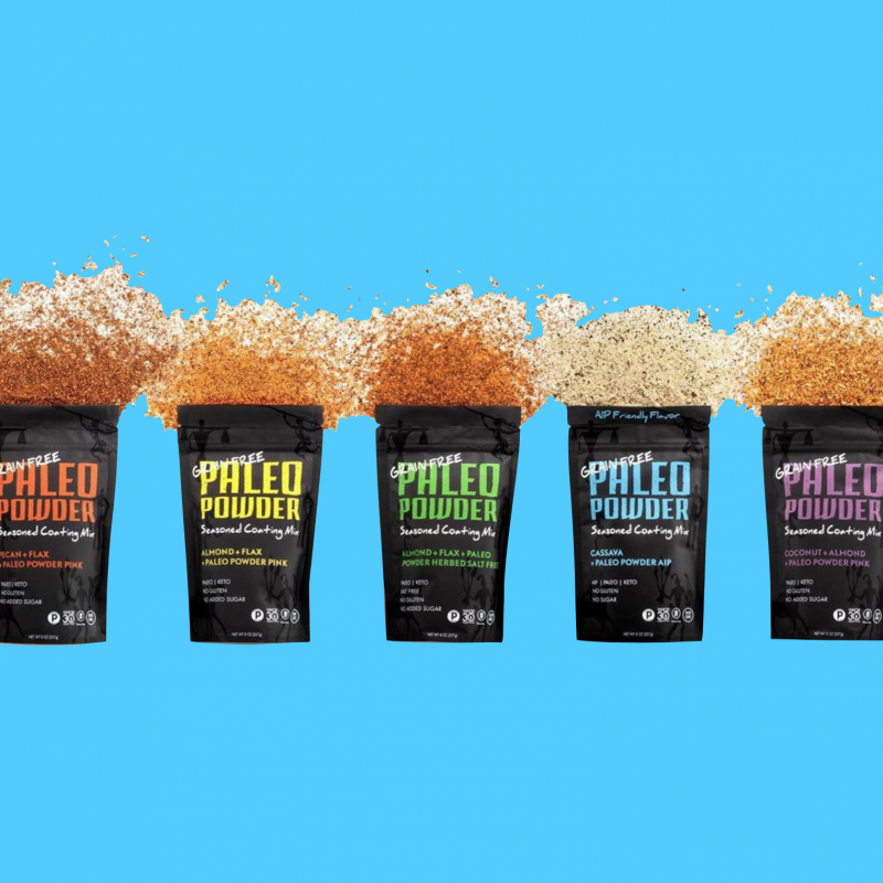 Coating Mix Lineup - Paleo Powder Seasonings - Certified Paleo - Paleo Foundation