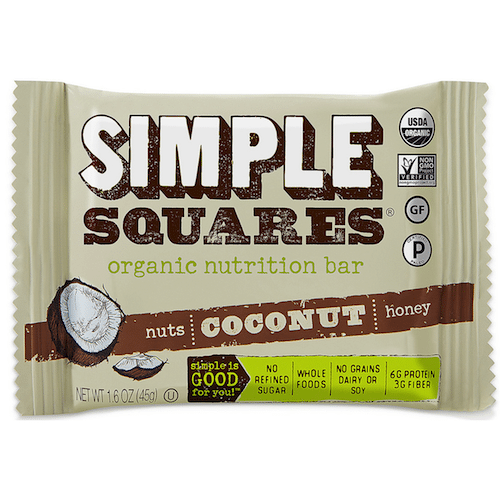 Coconut - Simple Squares - Certified Paleo - Paleo Foundation
