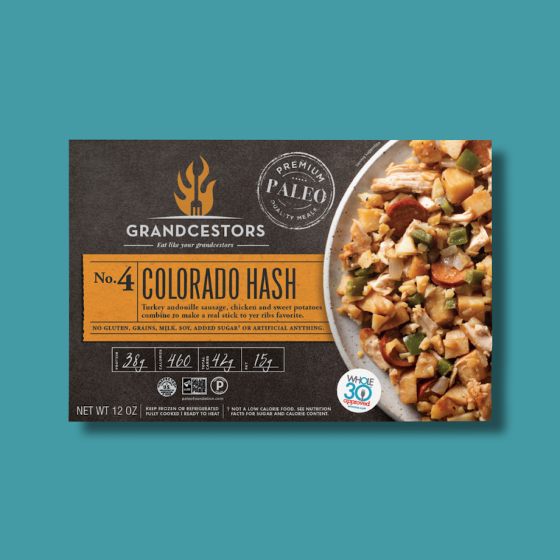 Colorado Hash 01 - Grandcestors - Certified Paleo, Certified Grain Free Gluten Free by the Paleo Foundation