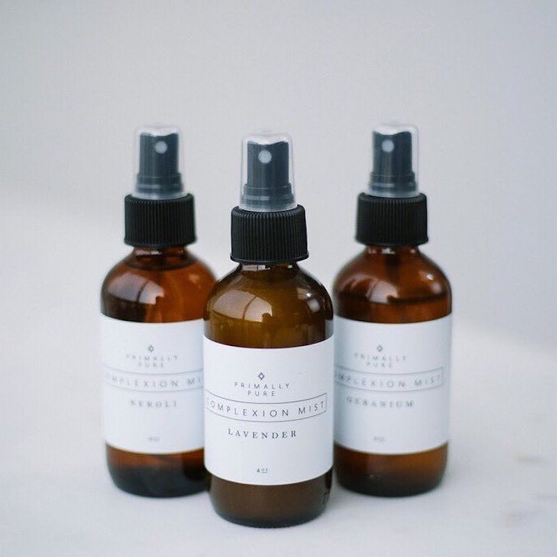 Complexion Mists (Neroli, Geranium + Lavender) - Primally Pure - Certified Paleo by the Paleo Foundation
