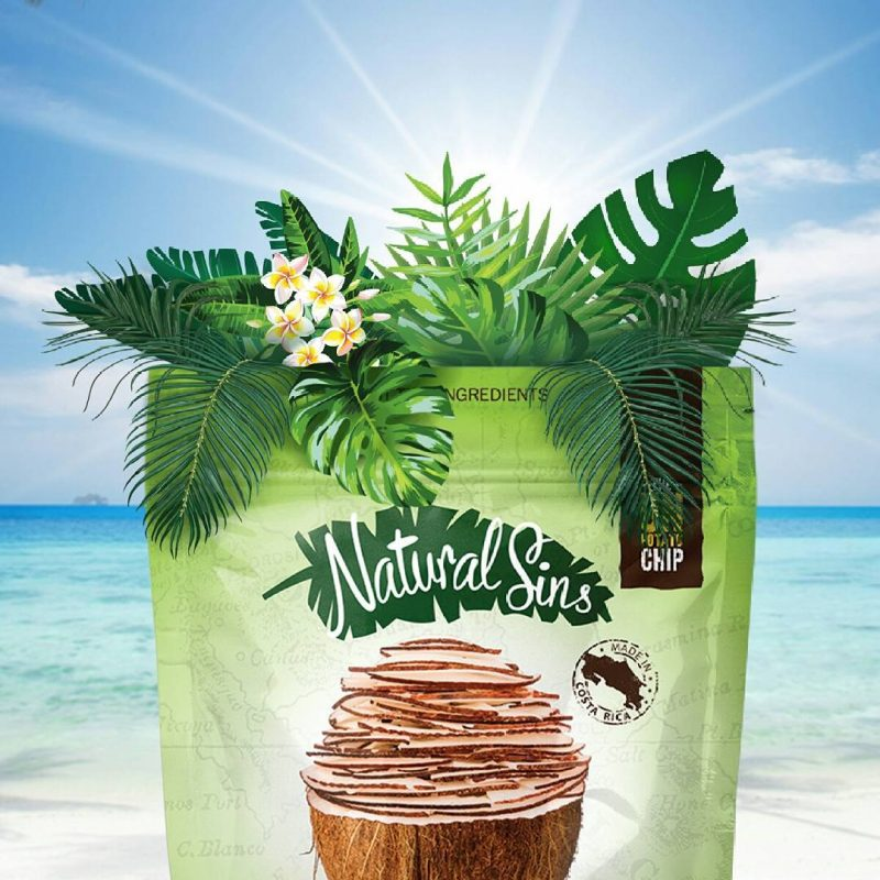 Crispy Coconut Chips 2 - Naturals Sins - Certified Paleo Friendly by the Paleo Foundation