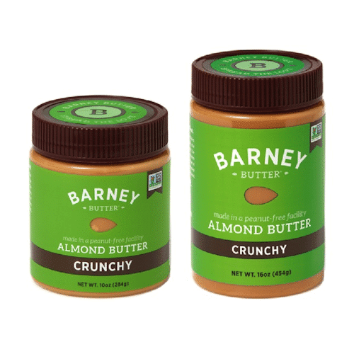 Crunchy Almond Butter - Barney Butter - Paleo Friendly, Paleo Vegan - Paleo Foundation