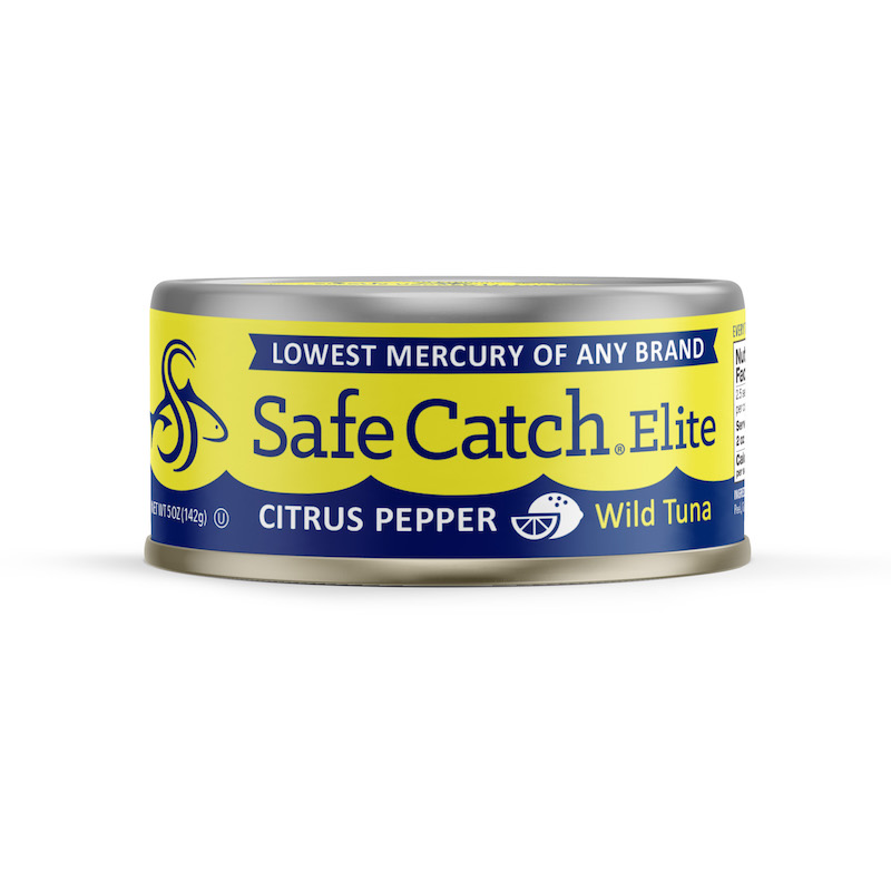 Elite Wild Tuna Citrus Pepper - Safe Catch - Certified Paleo, KETO Certified by the Paleo Foundation