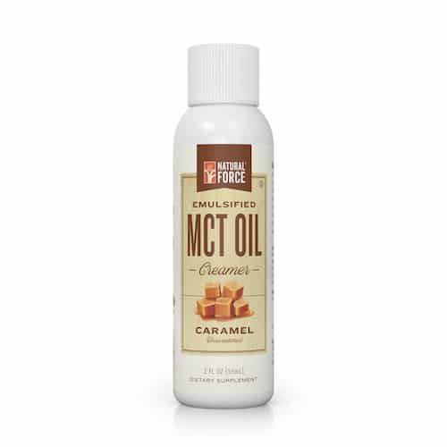 Emulsified MCT Oil (Caramel) - Natural Force - KETO Certified - Paleo Foundation