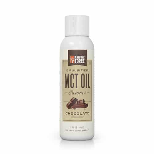 Emulsified MCT Oil (Chocolate) - Natural Force - KETO Certified - Paleo Foundation