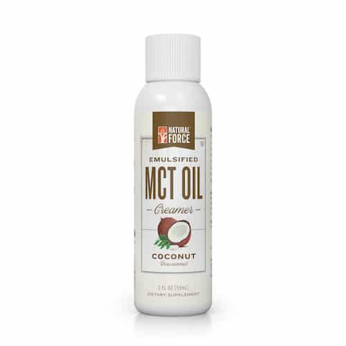 Emulsified MCT Oil (Coconut) - Natural Force - KETO Certified - Paleo Foundation