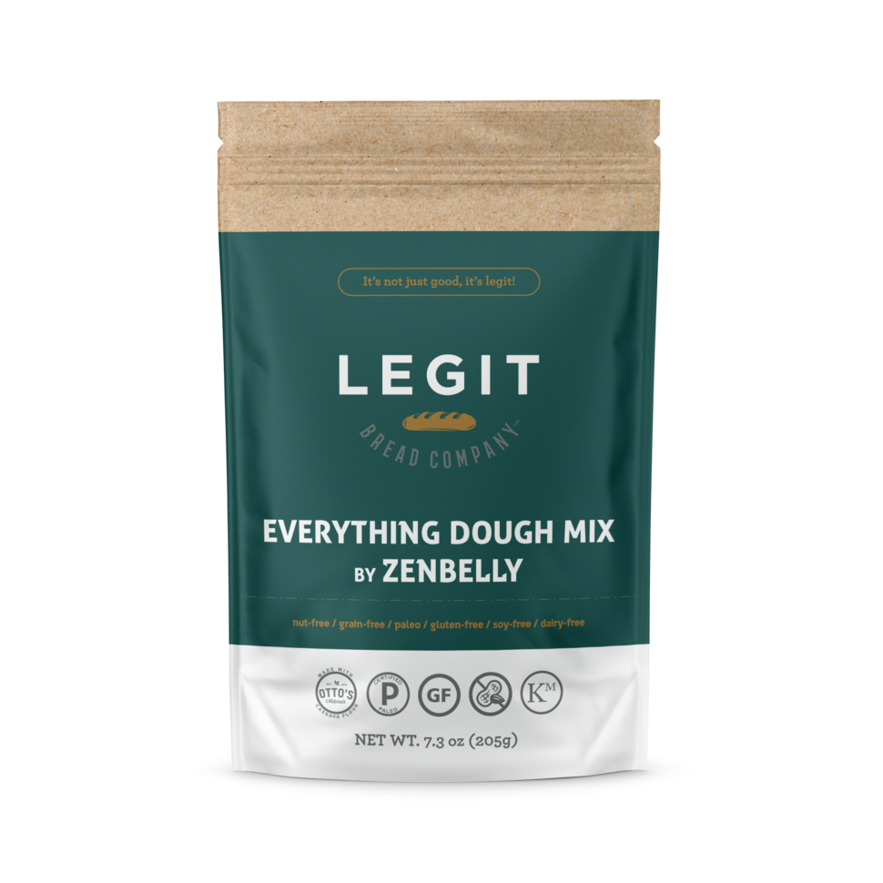 Everything Dough Mix - Legit Bread Co - Certified Paleo by the Paleo Foundation