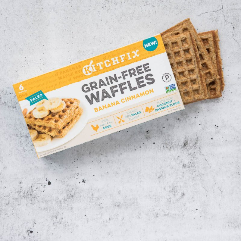 Frozen Grain-free Waffles - Kitchfix - Certified Paleo - Paleo Foundation