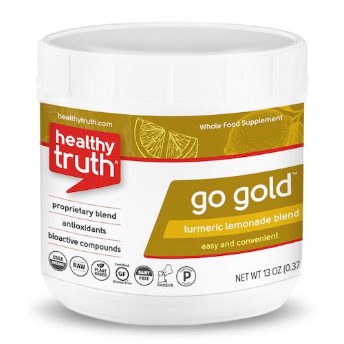 GO GOLD Turmeric Lemonade Powder Blend - Heathly Truth - Certified Paleo, Paleo Vegan - Paleo Foundation - paleo diet - paleo lifestyle - paleoaf
