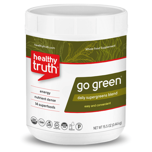 GO GREEN Daily Supergreens Powder - Heathly Truth - Certified Paleo, Paleo Vegan - Paleo Foundation - paleo diet - paleo lifestyle - paleoaf