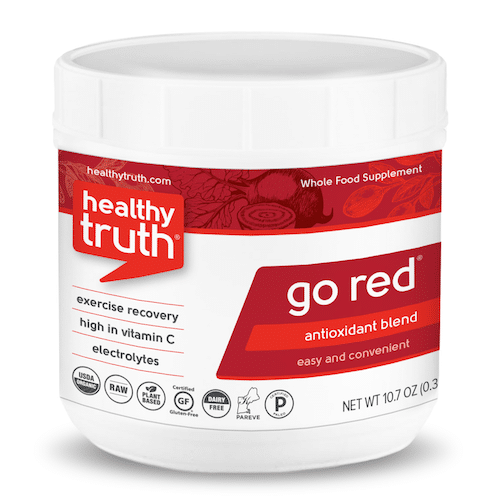 GO RED Antioxidant Powder Blend - Heathly Truth - Certified Paleo, Paleo Vegan - Paleo Foundation - paleo diet - paleo lifestyle - paleoaf