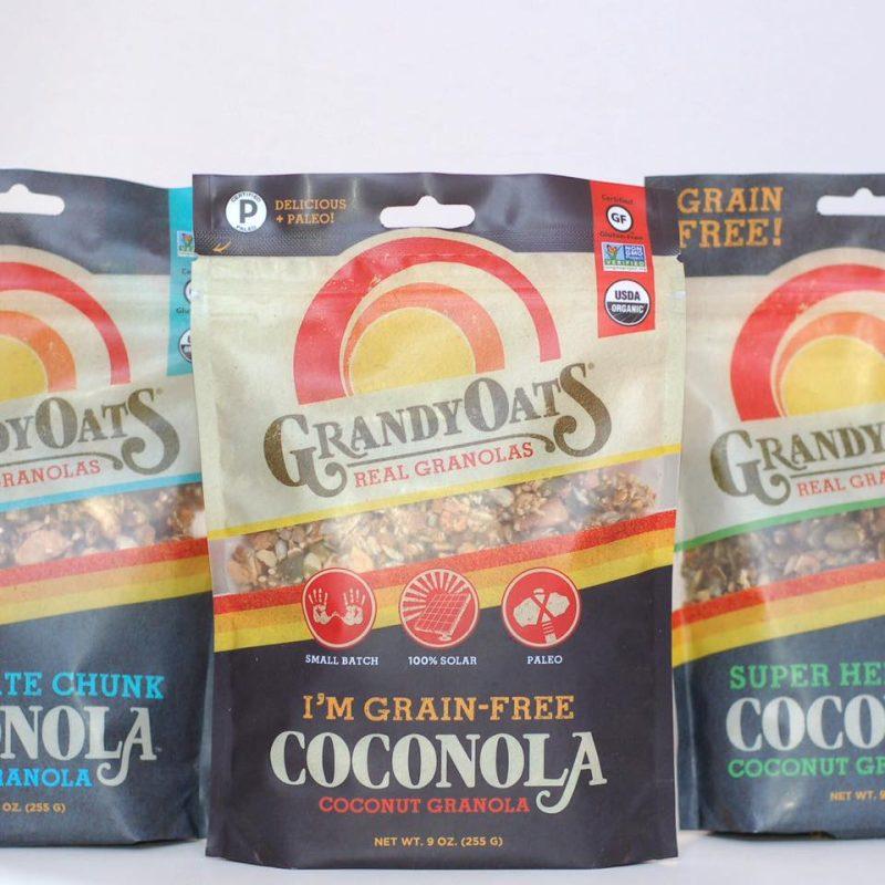 Grandy Oats Certified Paleo Coconut Granola