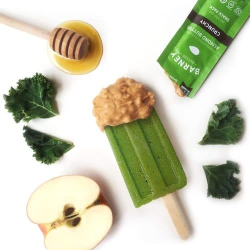 Green Machine Smoothie Popsicles - Barney Butter - Certified Paleo, Paleo Vegan - Paleo Foundation