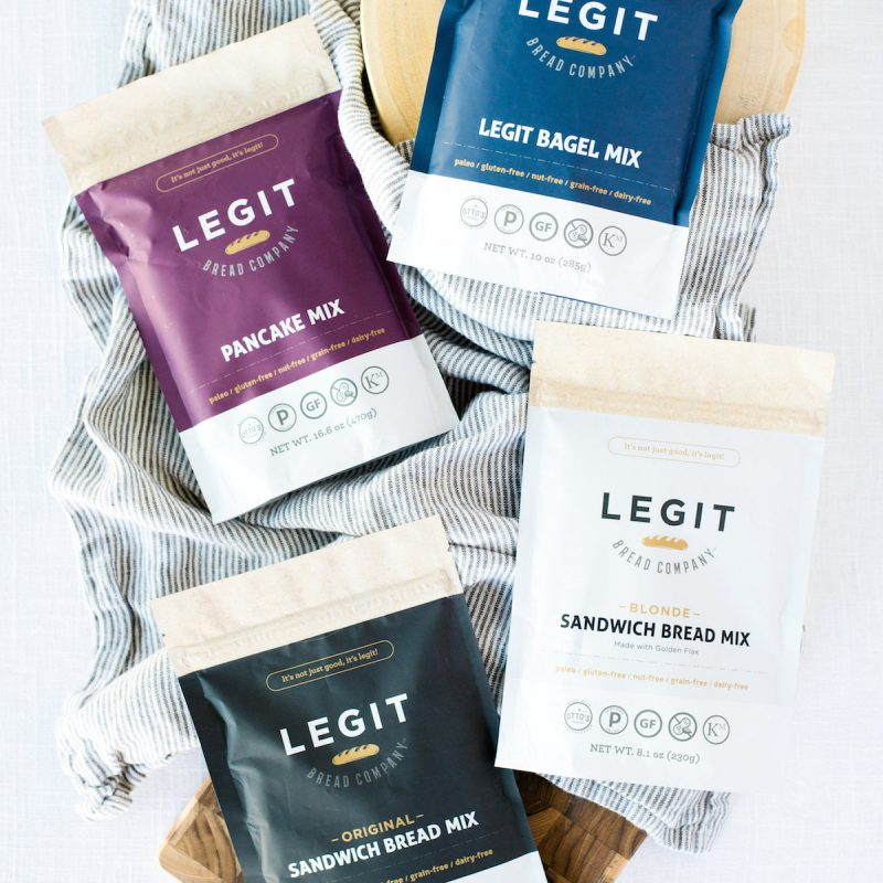 Group 01 - Legit Bread Co. - Certified Paleo by the Paleo Foundation