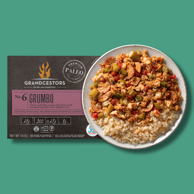 Grumbo 01 - Grandcestors - Certified Paleo, Certified Grain Free Gluten Free by the Paleo Foundation