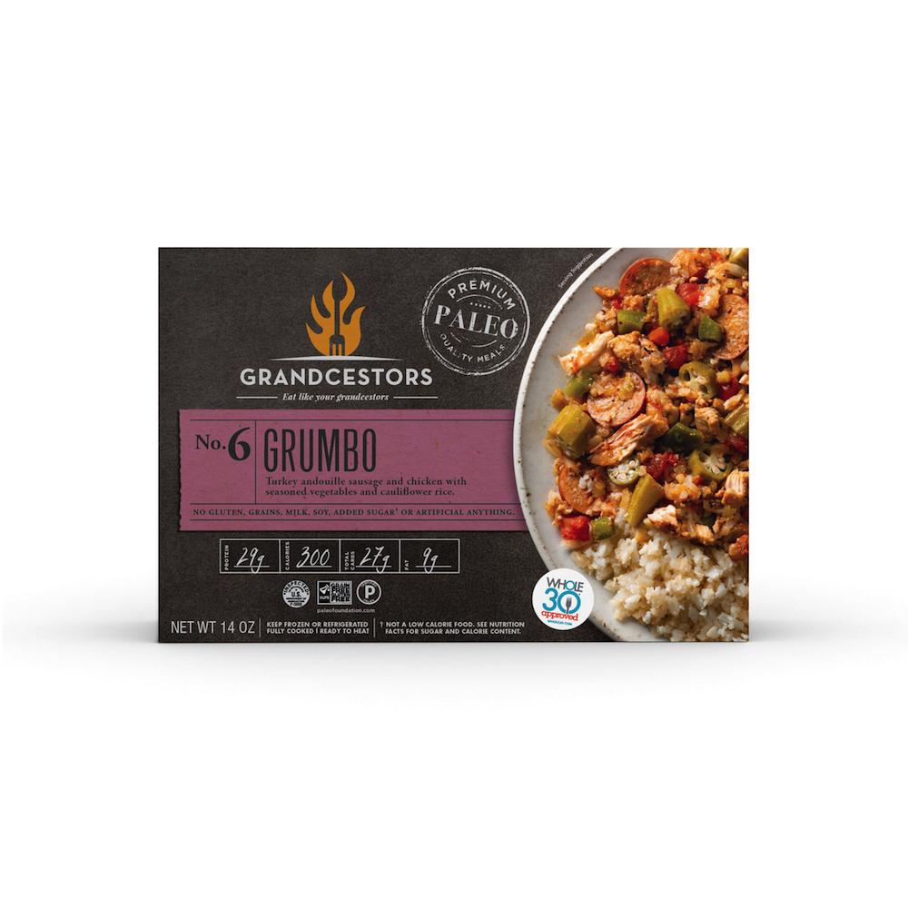 Grumbo - Grandcestors - Certified Paleo, Certified Grain Free Gluten Free by the Paleo Foundation