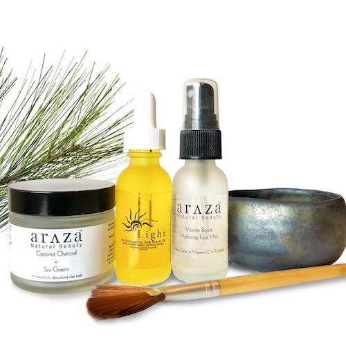 Holiday Skincare Set - Araza Beauty - Certified Paleo, PaleoVegan - Paleo Foundation