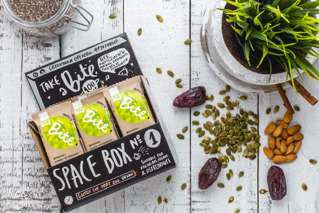 Take a Bite Lemon - BioFoodLab - Bite Bar is 100% raw nut and fruit bar from Russia made by BioFoodLab company. All the ingredients can be read, understood, and pronounced by everyone. Made from 100% natural ingredients. No use of chemical additives. #certifiedpaleo #paleo