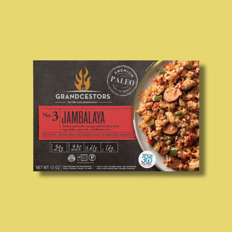 Jambalaya 01 - Grandcestors - Certified Paleo, Certified Grain Free Gluten Free by the Paleo Foundation