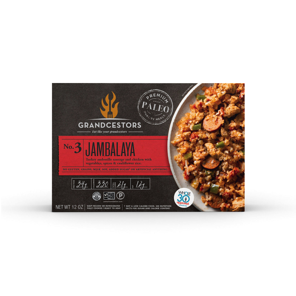 Jambalaya - Grandcestors - Certified Paleo, Certified Grain Free Gluten Free by the Paleo Foundation