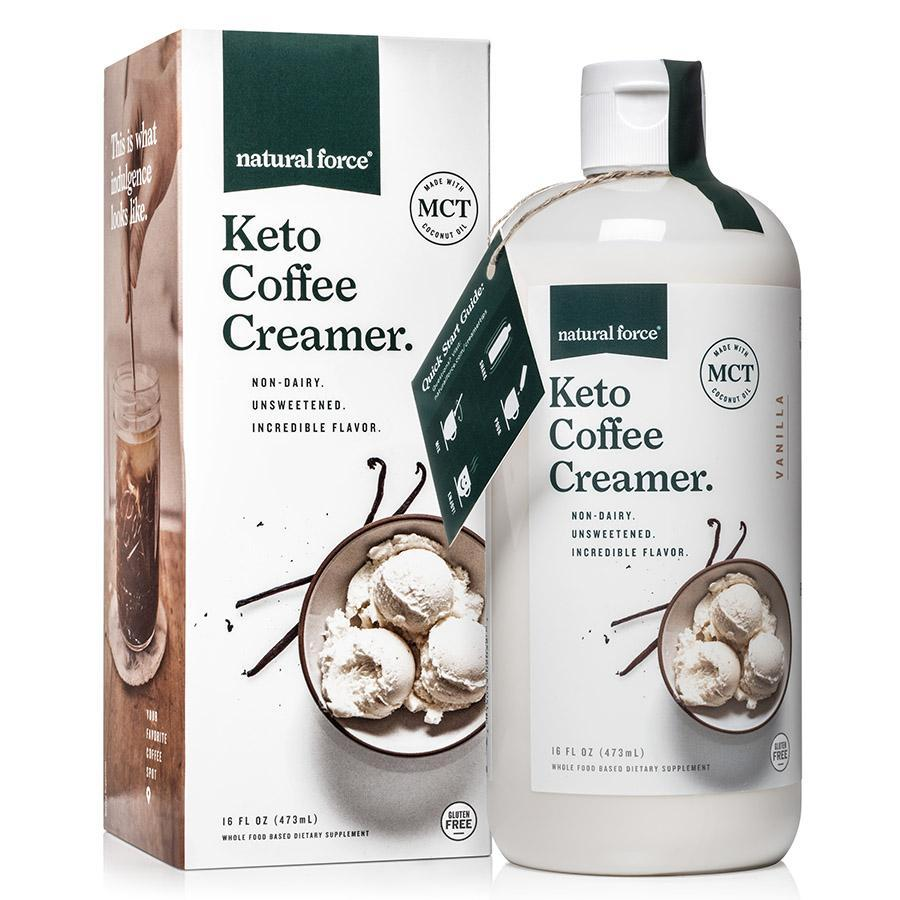 Keto Coffee Creamer Vanilla - Natural Force - Certified Paleo Friendly, Keto Certified by the Paleo Foundation