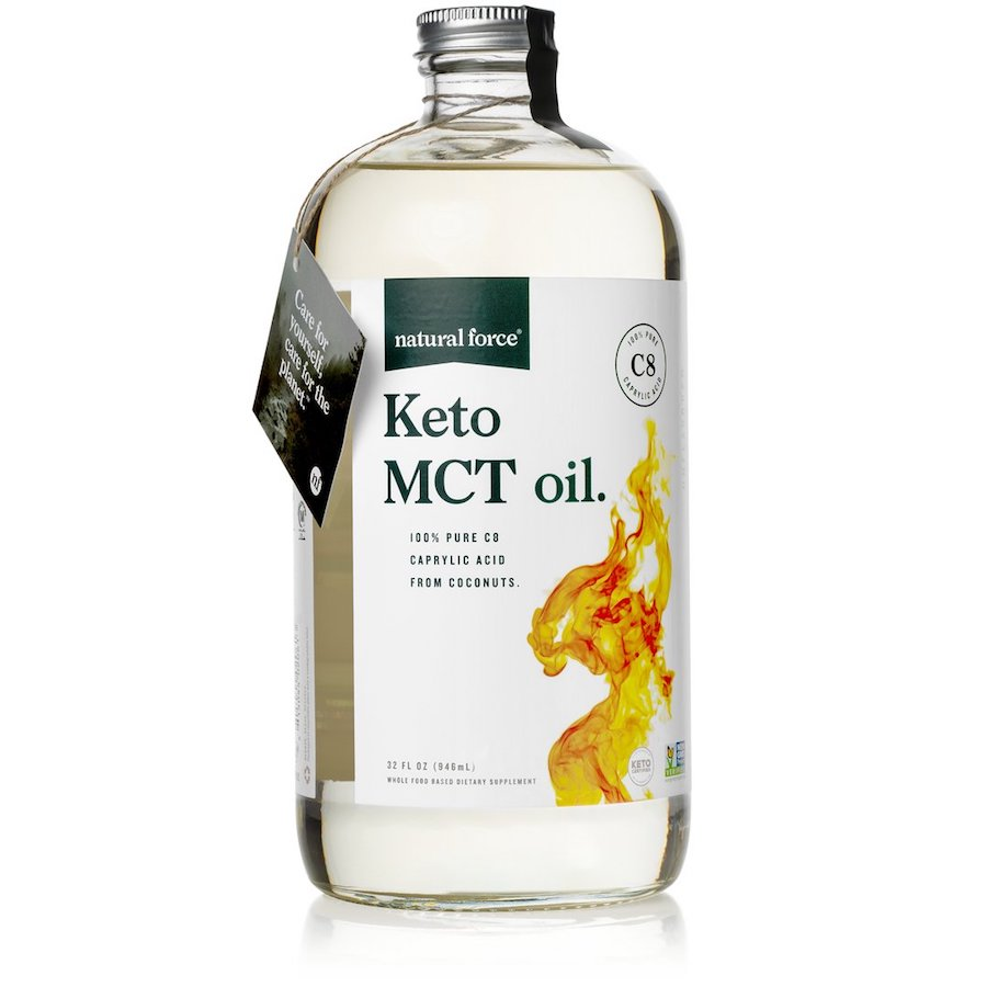 Keto MCT Oil - Natural Force - Certified Paleo, Keto Certified by the Paleo Foundation