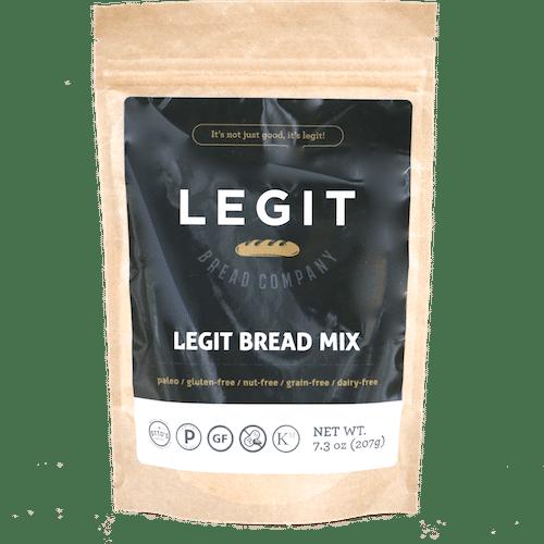 Legit Bread Mix - Legit Bread Company - Certified Paleo - Paleo Foundation