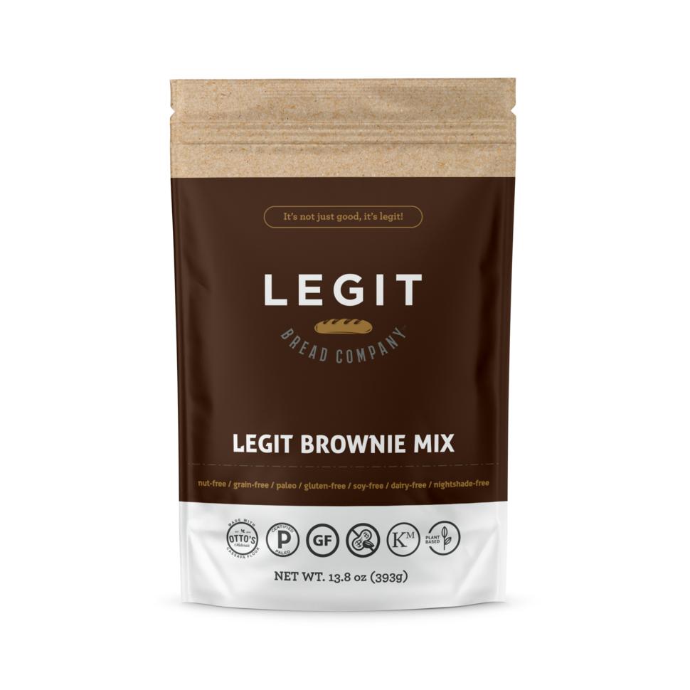 Legit Brownie Mix - Legit Bread Co - Certified Paleo by the Paleo Foundation