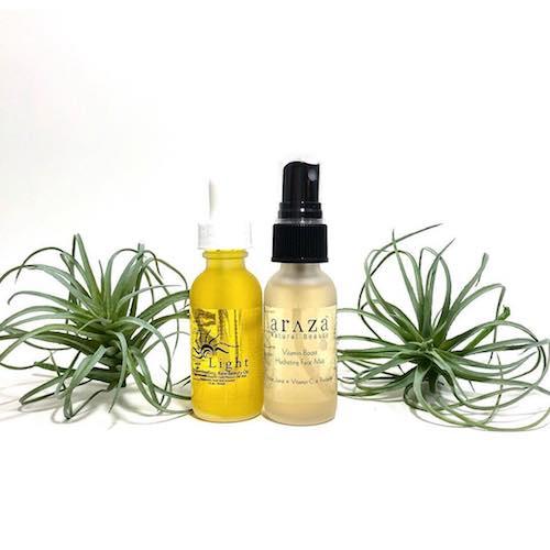Light-Illuminating Raw Beauty Oil & Vitamin Boost Hydrating Mist - Araza Beauty - Certified Paleo - Paleo Foundation