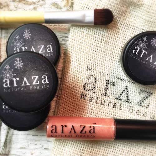 Makeup set - Araza Beauty - Certified Paleo - Paleo Foundation