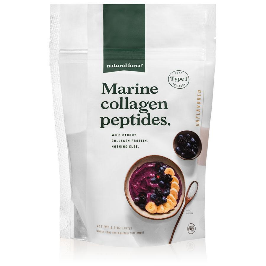 Marine Collagen Peptides - Natural Force - Certified Paleo, Keto Certified by the Paleo Foundation