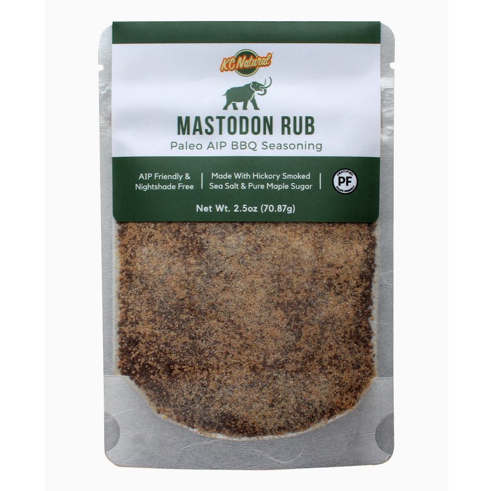 Mastodon BBQ Rub - KC Naturals - Certified Paleo by the Paleo Foundation