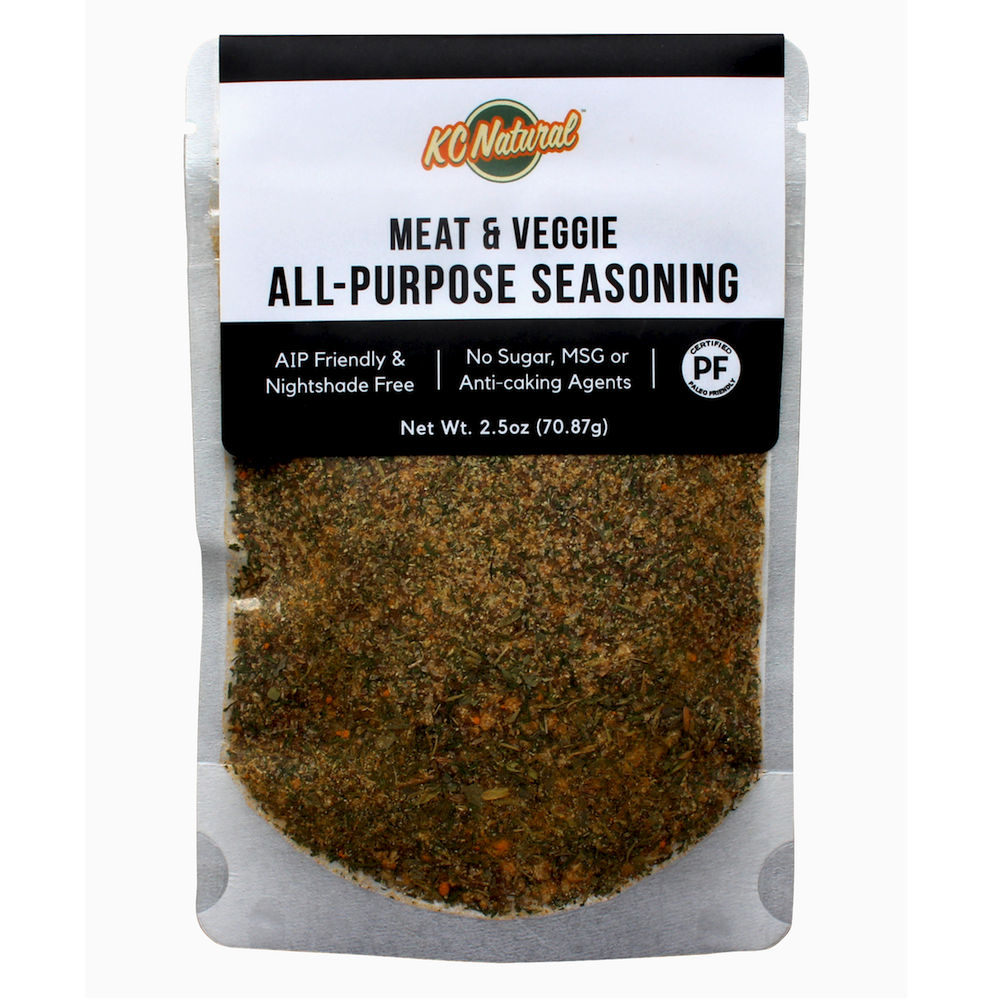 Meat & Veggie Seasoning - KC Naturals - Certified Paleo, KETO Certified by the Paleo Foundation