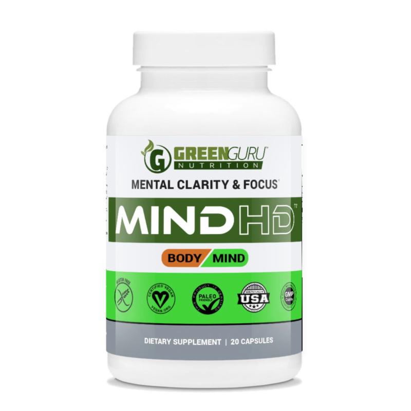 Mental Clarity and Focus Nootropics Green Guru Nutrition