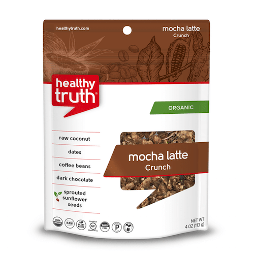 Mocha Latte Crunch - Heathly Truth - Certified Paleo, Paleo Vegan - Paleo Foundation - paleo diet - paleo lifestyle - paleoaf